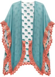 Sommer Poncho mit Elefanten, bpc bonprix collection