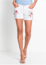 Jeans-Shorts mit Stickerei, BODYFLIRT