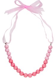 Collier de perles avec ruban satin, bpc bonprix collection