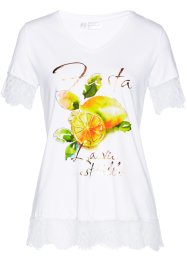 T-Shirt mit Spitze, bpc selection