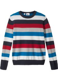 Gestreifter Strickpullover, bpc bonprix collection