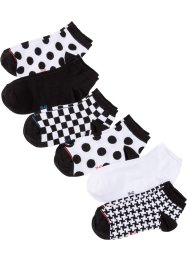 Lot de 6 paires de chaussettes basses femme, bpc bonprix collection