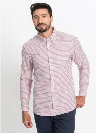 Langarm-Streifenhemd Regular Fit, bpc bonprix collection