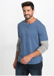 2-in-1-Langarmshirt Regular Fit, bpc bonprix collection