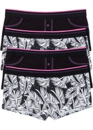 Lot de 4 shorties, RAINBOW