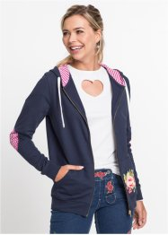 Gilet sweat-shirt bavarois, RAINBOW