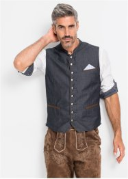 Gilet en jean bavarois Regular Fit, bpc selection
