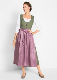 Dirndl avec tablier, bas de mollet, bpc bonprix collection