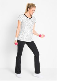 Ensemble de yoga T-shirt et pantalon, bpc bonprix collection