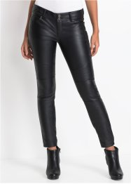 Pantalon biker synthétique imitation cuir, RAINBOW