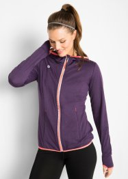 Funktionale Trainings-Sweatjacke mit langen Ärmeln, bpc bonprix collection