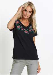 T-Shirt mit Blumenprint, bpc selection
