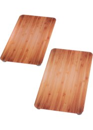 "Herdabdeckplatten ""Holz-Optik"" (2-tlg. Set), bpc living"