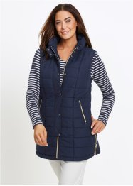 Gilet matelassé long sans manches, bpc selection
