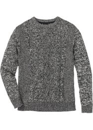 Pullover mit Zopfmuster Regular Fit, bpc bonprix collection
