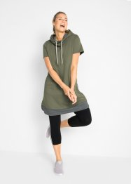 Wellness-Longsweatshirt mit Leggings (2-tlg.), bpc bonprix collection