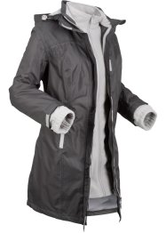 Funktions-3 in 1 Jacke mit Kapuze, lang, bpc bonprix collection