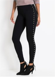 Treggings mit Perlen, BODYFLIRT