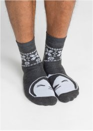 Lot de 2 paires de chaussettes thermo, bpc bonprix collection