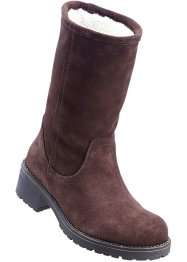 Stiefel mit Warmfutter aus Leder, bpc bonprix collection