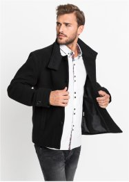 Veste aspect laine Regular Fit, RAINBOW