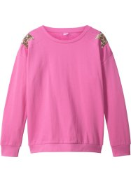 Sweatshirt mit Paillettensternen, bpc bonprix collection