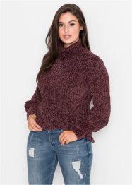 Pull à col roulé maille chenille : MUST-HAVE, BODYFLIRT