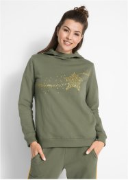 Kapuzensweatshirt, langarm, bpc bonprix collection