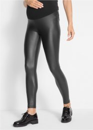 Umstands-Leggings in Lederoptik, bpc bonprix collection