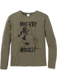 Mickey Mouse Langarmshirt Slim Fit, Disney