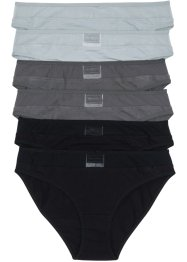 Slip mit Mesheinsatz (6er-Pack), bpc selection