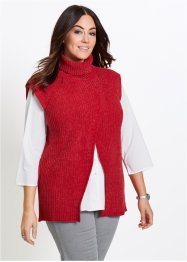 Pull sans manches en maille chenille, bpc selection