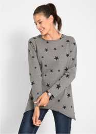 Baumwoll-Sweatshirt mit Sternen, bpc bonprix collection