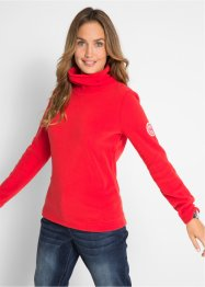 Fleece-Rollkragenshirt, bpc bonprix collection