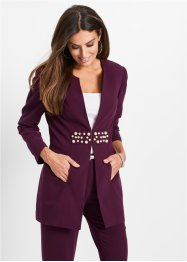Blazer long avec perles, bpc selection premium