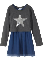 Boxy-Sweatshirt + Kleid (2-tlg.Set), bpc bonprix collection
