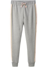 Pantalon sweat avec bandes contrastantes, bpc bonprix collection