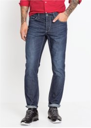 Jeans à coutures contrastantes Slim Fit Straight, RAINBOW