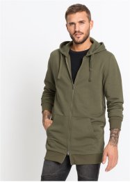 Long-Sweatjacke Slim Fit, RAINBOW