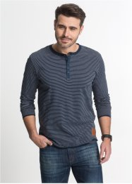 T-shirt manches longues à rayures, John Baner JEANSWEAR