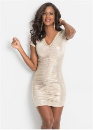 Kleid mit Metallic-Print, BODYFLIRT boutique