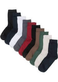 Socken Basic (10er Pack) mit Bio-Baumwolle, bpc bonprix collection
