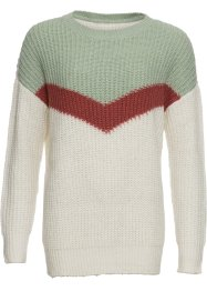 Strick-Long-Pullover, RAINBOW