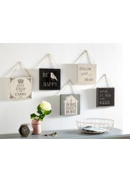 Set de tableaux Vintage (Ens. 5 pces.), bpc living