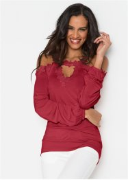 Cold-Shoulder-Shirt, BODYFLIRT boutique