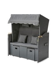 Fauteuil-cabine de plage Frieda, bpc living bonprix collection
