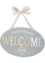 Deko Schild Welcome, bpc living bonprix collection