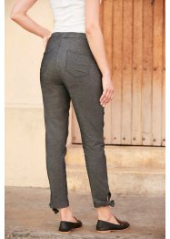 "Super-Stretch-Schlupfhose mit Bindedetail ""slim-fit"", bpc bonprix collection"