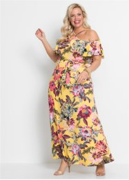 Off-Shoulder-Maxikleid, BODYFLIRT boutique