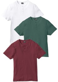 T-Shirt (3er Pack), bpc bonprix collection